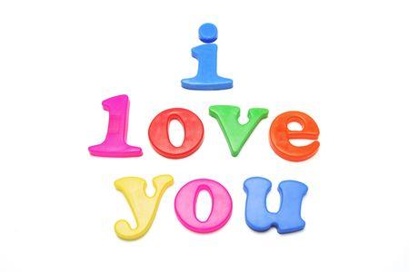 I Love You Alphabets photo