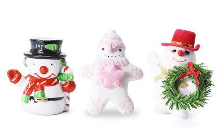 Snowman Figures photo