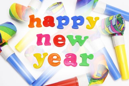 blowers: Party Blowers and Happy New Year