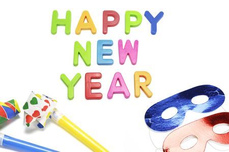 cotillons: Happy New Year Party Favors et