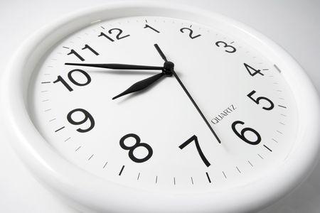 orologio da parete: Orologio a parete senza soluzione di sfondo