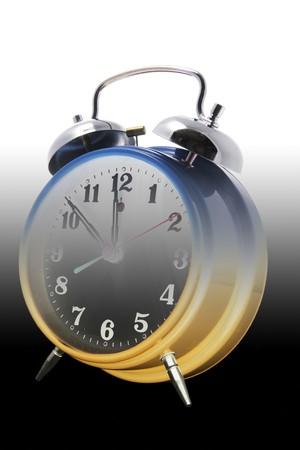 gradual: Alarma en blanco y negro gradual tono