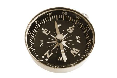 cardinal points: Compass aislados en fondo blanco Foto de archivo