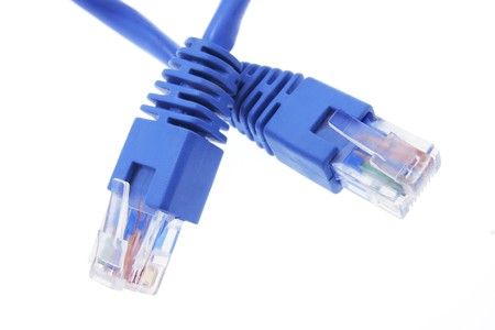 network cable: Close Up of Network Cable