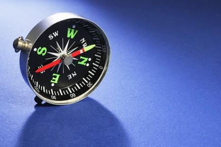cardinal points: Br�jula de Blue perfecta Antecedentes