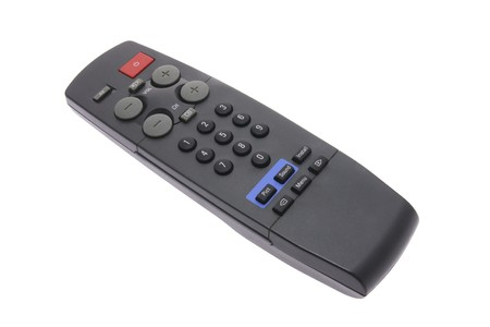 Remote Control on Isolated White Background Stock Photo - 4534104