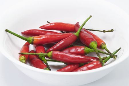 pungency: Close Up of Red Chillis