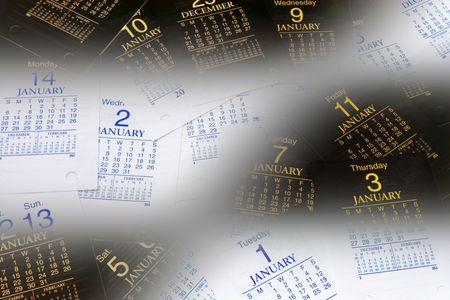 gradual: M�ltiples p�ginas en el calendario gradual de tonos