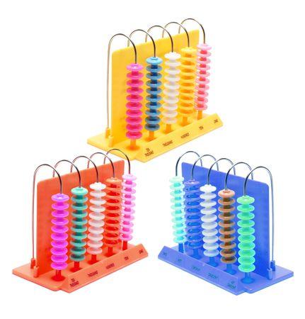 Abacus on Isolated White Background Stock Photo - 4954808