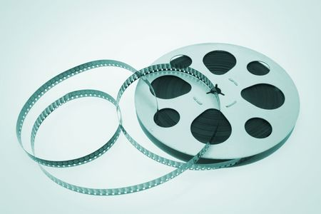 green tone: Film Reel in Green Tone