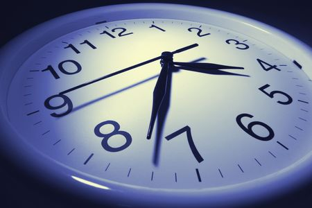 orologio da parete: Chiudere su Wall Clock