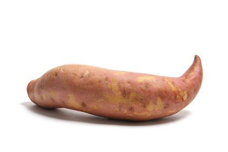 sweet potato: Sweet Potato on White Background