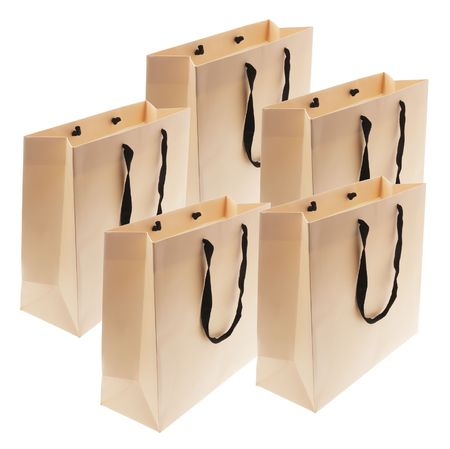 paperbags: Shopping Bags on Isolated White Background