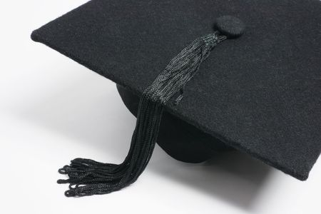 Close Up of Mortarboard  photo