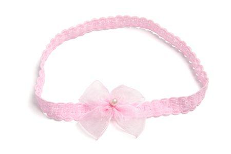 hairband: Baby Headband on White Background