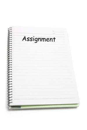 note book: Libro di nota a spirale su sfondo bianco isolato