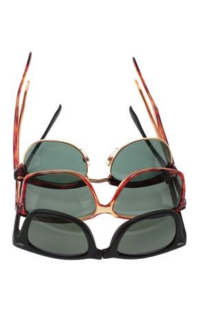 Sunglasses on Isolated White Background photo