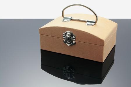 money box: Money Box with Reflection