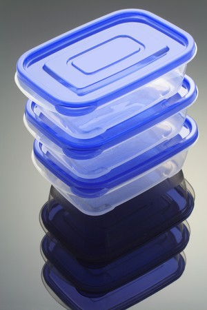 homeware: Plastic Boxes with Reflection