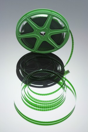 Film Reel with Reflection photo