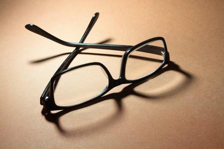 Eyeglasses on Warm Background Stock Photo - 7826405