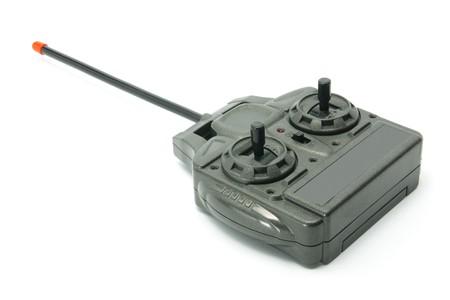 Radio Remote Control on White Background Stock Photo - 8052371
