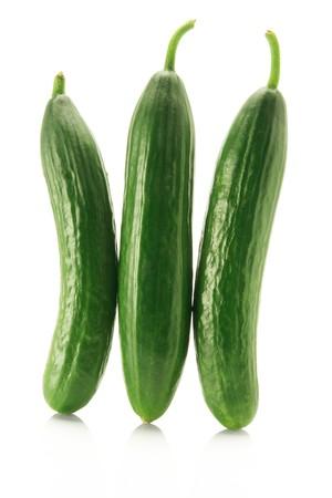 Cucumber on White Background photo