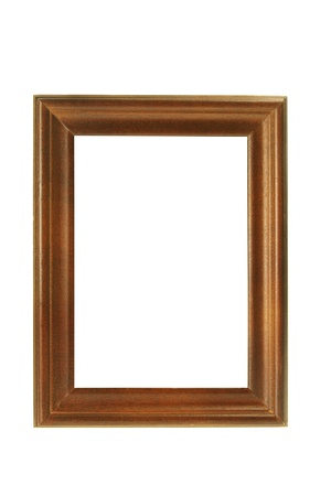 Photo Frame on White Background Stock Photo - 9150932