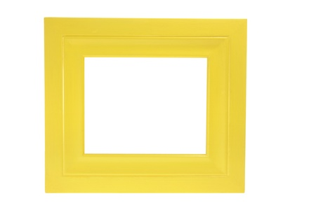 Photo Frame on White Background Stock Photo - 9211911