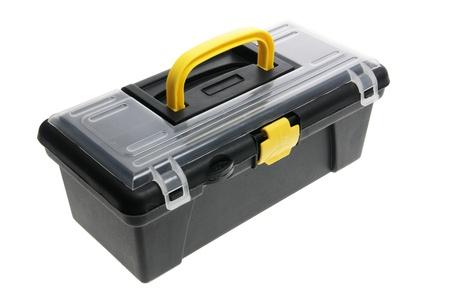 Tool Box on White Background Stock Photo - 9211940