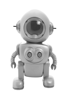 Toy Robot on White Background Stock Photo - 9267334