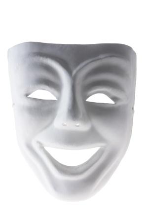 Face Mask on White Background photo