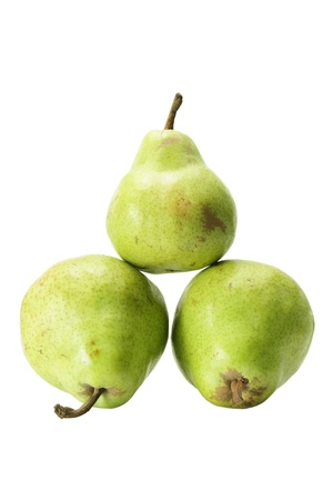 Williams Pears on White Background photo