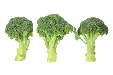 Broccoli on White Background photo