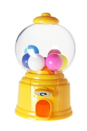gumball: Gumball Machine on White Background