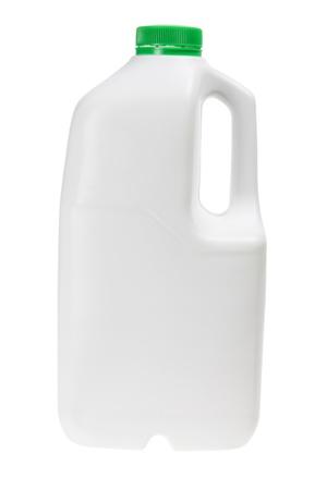 Plastic Bottle on White Background photo