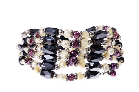 Bracelet on Isolated White Background Stock Photo - 10530047