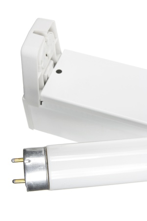 Close Up of Fluorescent Tube Stock Photo - 11005639