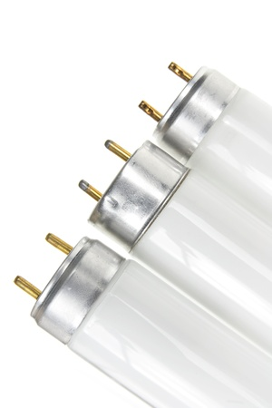 Close Up of Fluorescent Tubes photo