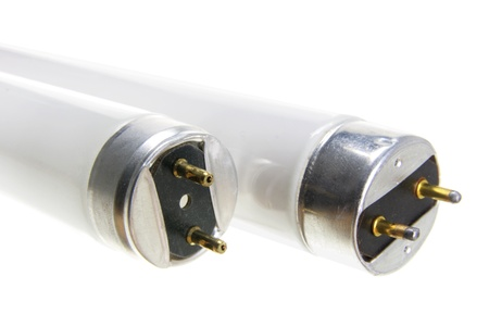 Close Up of Fluorescent Tubes Stock Photo - 11005945