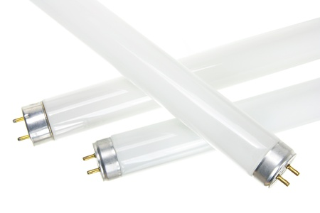 Close Up of Fluorescent Tubes Stock Photo - 11005889