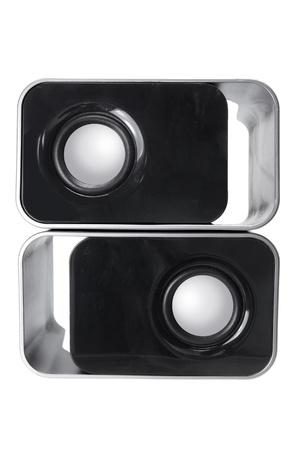 Portable Speakers on White Background Stock Photo - 11078162
