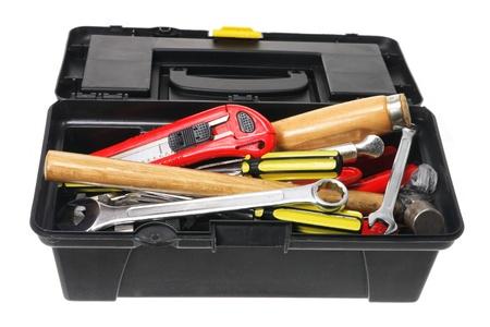Tool Box on White Background Stock Photo - 11149232