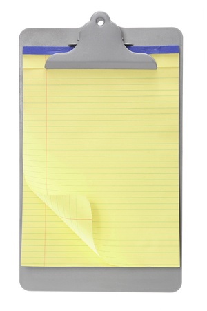 Clip Board on White Background Stock Photo - 11149218