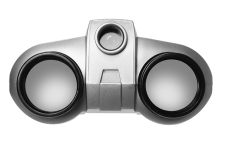 Binoculars on White Background Stock Photo - 11266053