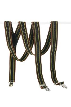 suspenders: Suspenders on White Background Stock Photo
