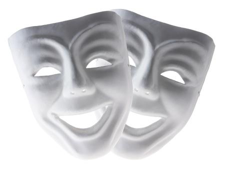 Face Masks on White Background photo