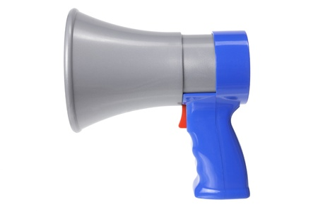 loud speaker: Loud Speaker on White Background