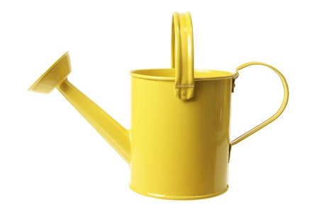 water can: Watering Can on White Background