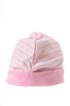 Baby Hat on White background Stock Photo - 13377401